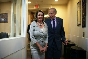 From napervilledemocrats.org/ntdo/to-infrastruct-or-not-to-infrastruct/: Pelosi and Schumer-- clueless Democratic Party leaders